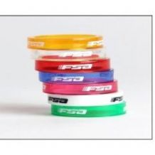 "FSA POLYCARBONATE AHEADSET / STEM SPACER PACK 1 1/8"" - COLOUR OPTIONS - 4 SPACER PACK"